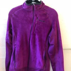 Purple Patagonia R2 Fleece